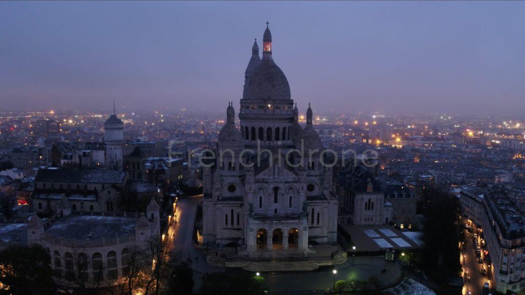 Image drone Montmartre